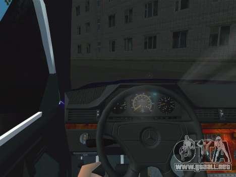 Mercedes-Benz E500 AMG para la visión correcta GTA San Andreas