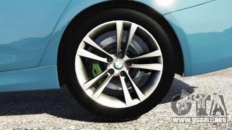 GTA 5 BMW 335i GT (F34) [add-on] vista lateral trasera derecha