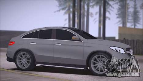 Mercedes-Benz GLE AMG para GTA San Andreas left