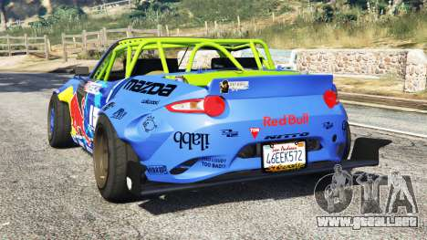 Mazda MX-5 (ND) RADBUL Mad Mike [replace] para GTA 5