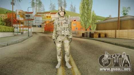 Multicam US Army 2 v2 para GTA San Andreas segunda pantalla