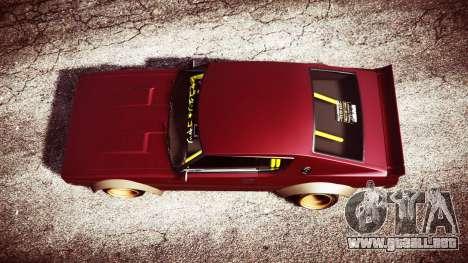 GTA 5 Nissan Skyline GT-R C110 Liberty Walk [replace] vista trasera