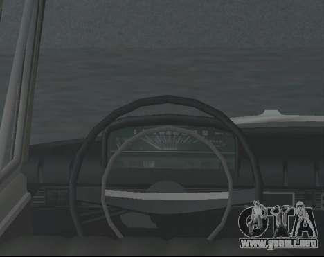 VAZ 21013 Krasnoyarsk stil para GTA San Andreas vista posterior izquierda