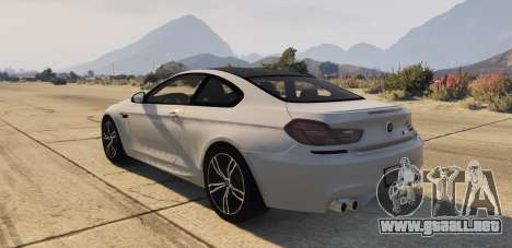 GTA 5 BMW M6 F13 Coupe 2013 vista lateral izquierda