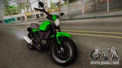 GTA 5 Pegassi Esskey IVF para GTA San Andreas