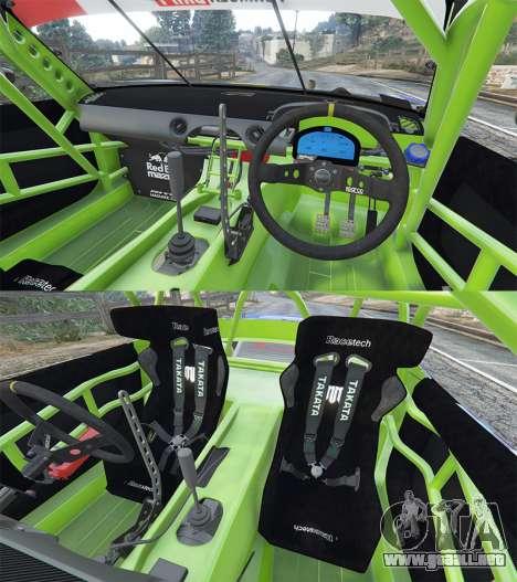 GTA 5 Mazda MX-5 (ND) RADBUL Mad Mike [replace] delantero derecho vista lateral