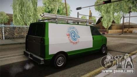 GTA 4 Burrito para GTA San Andreas left