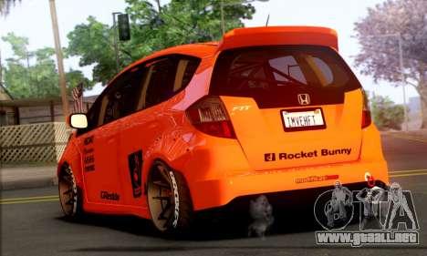 Honda Fit 2009 Rocket Bunny para GTA San Andreas left