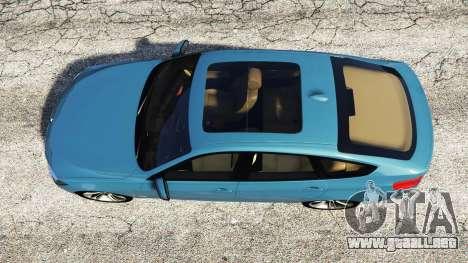 GTA 5 BMW 335i GT (F34) [add-on] vista trasera