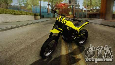 GTA 5 Epic Maibatsu Manchez para GTA San Andreas