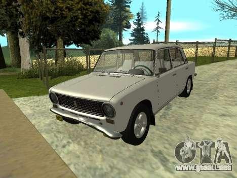 VAZ 21013 124RUSSIA para la visión correcta GTA San Andreas