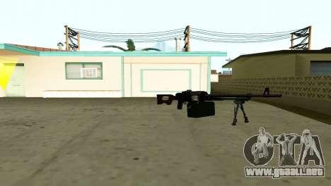 PKM Negro para GTA San Andreas sucesivamente de pantalla