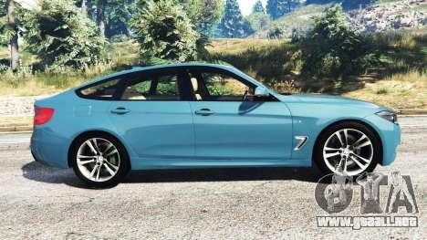 GTA 5 BMW 335i GT (F34) [add-on] vista lateral izquierda