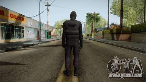 GTA 5 Heists DLC Male Skin 1 para GTA San Andreas tercera pantalla