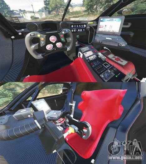 GTA 5 Renault Sport RS 01 2014 Police Interceptor [r] vista lateral trasera derecha