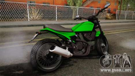 GTA 5 Pegassi Esskey IVF para GTA San Andreas left