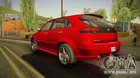 GTA 5 Emperor Habanero para GTA San Andreas left
