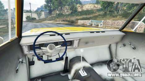 Plymouth Belvedere 1965 Taxi [replace] para GTA 5