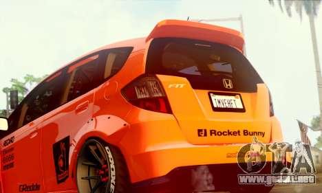 Honda Fit 2009 Rocket Bunny para la visión correcta GTA San Andreas