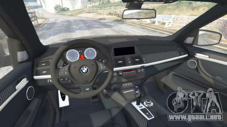 GTA 5 BMW X5 M (E70) 2013 v0.1 [replace] delantero derecho vista lateral