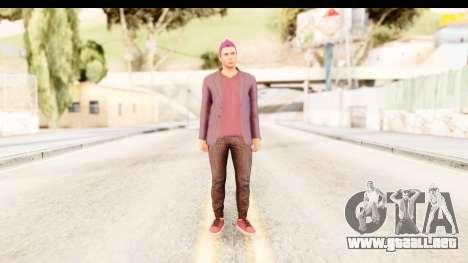 GTA 5 Random Skin 1 para GTA San Andreas segunda pantalla