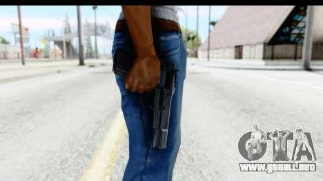 Browning Hi-Power para GTA San Andreas tercera pantalla