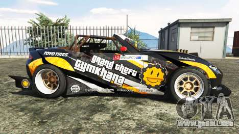 GTA 5 Mazda MX-5 (ND) RADBUL Mango v1.1 [replace] vista lateral izquierda