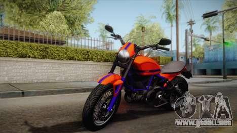 GTA 5 Pegassi Esskey PJ2 para GTA San Andreas