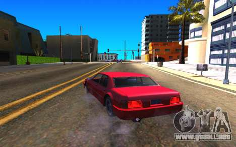 Summer Colormod para GTA San Andreas quinta pantalla