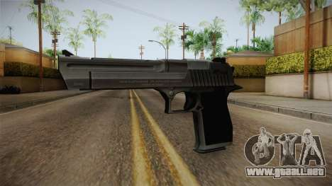 Counter Strike: Source - Desert Eagle para GTA San Andreas segunda pantalla