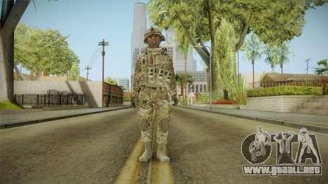Multicam US Army 3 v2 para GTA San Andreas segunda pantalla