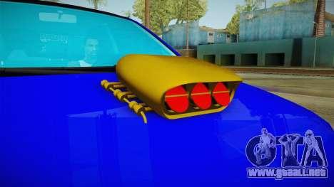 Dacia Logan Stance Haur Edition para visión interna GTA San Andreas