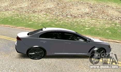 Mitsubishi Lancer para GTA San Andreas left
