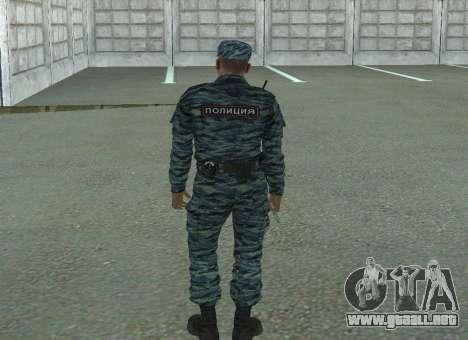 Policías antidisturbios (verano) para GTA San Andreas tercera pantalla