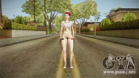 Crossfire Fox Undercover para GTA San Andreas segunda pantalla
