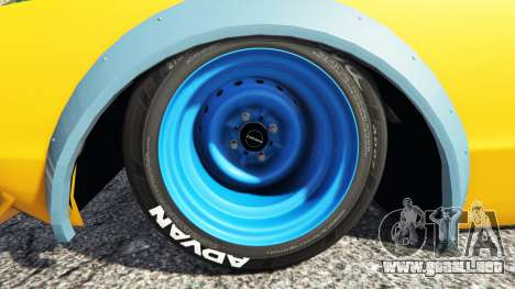 Nissan Skyline GT-R C110 Liberty Walk [add-on] para GTA 5