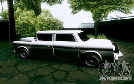 Walton Sedan para GTA San Andreas left