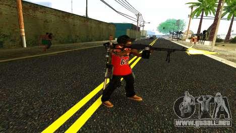 PKM Negro para GTA San Andreas segunda pantalla