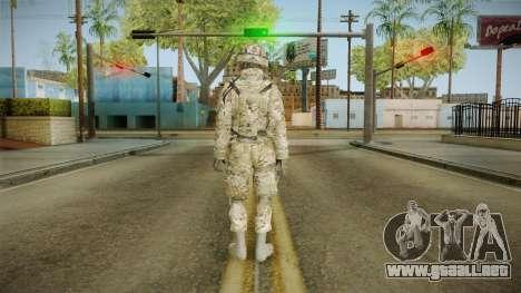 Multicam US Army 3 v2 para GTA San Andreas tercera pantalla
