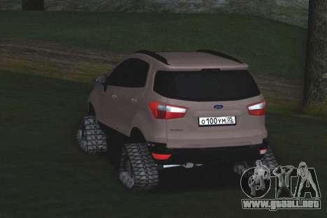 Ford Ecosport Off-Road para la visión correcta GTA San Andreas