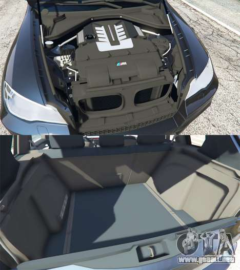 GTA 5 BMW X5 M (E70) 2013 v0.1 [replace] vista lateral derecha