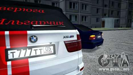BMW MX5 para GTA San Andreas vista posterior izquierda