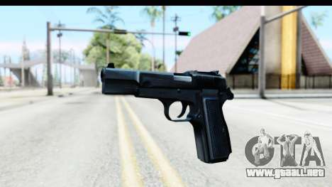 Browning Hi-Power para GTA San Andreas