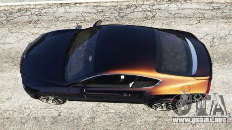 GTA 5 Bentley Continental GT 2012 [replace] vista trasera