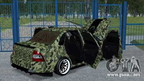 Lada Priora Style para GTA San Andreas left