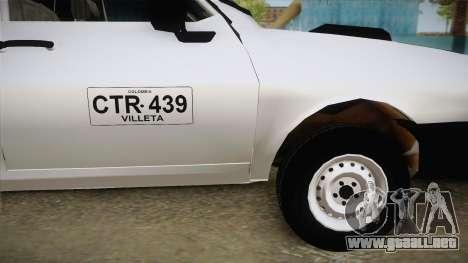 Dacia 1300 Drop Side para GTA San Andreas vista posterior izquierda