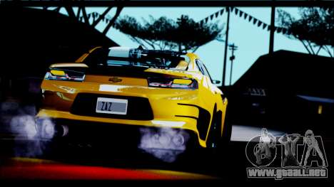Chevrolet Camaro SS 2016 Bumblebee TF 5 para la visión correcta GTA San Andreas