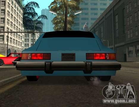 Comet Pride para visión interna GTA San Andreas