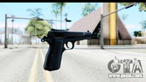 Browning Hi-Power para GTA San Andreas segunda pantalla