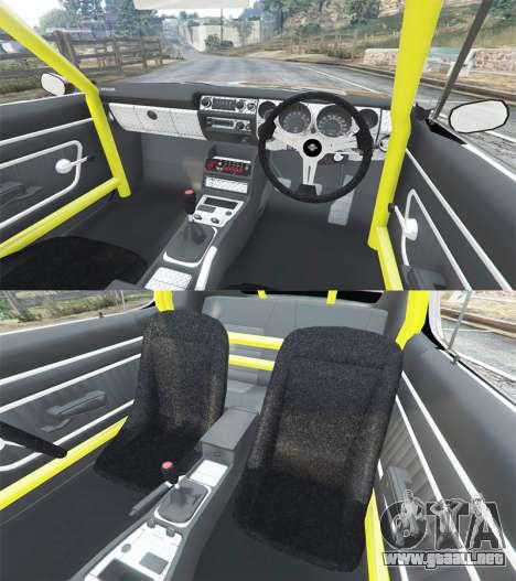 GTA 5 Nissan Skyline GT-R C110 Liberty Walk [replace] delantero derecho vista lateral